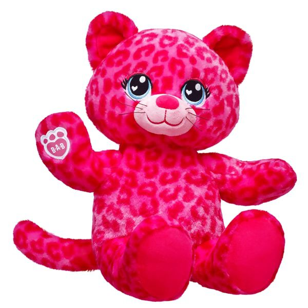 Make it a Valentine's Day to remember with Sweet Scent Leopard! This wildly cute furry friend is candy-scented and has bright pink leopard print fur with expressive blue eyes. In addition to its candy scent, this furry friend can be outfitted in various outfits and accessories to create the perfect look. You can also add a personalised message or love song to make Sweet Scent Leopard as unique as your Valentine!Scent Technology by Celessence™ ©2017Celessence™ is a registered trademark of Celessence Technologies.