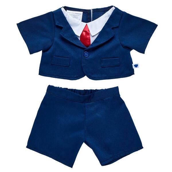 Navy Business Suit 2 pc. - Build-A-Bear Workshop®