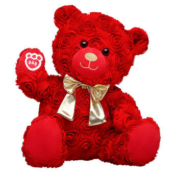 Online Exclusive Red Roses Bear Gold Gift Set, , hi-res