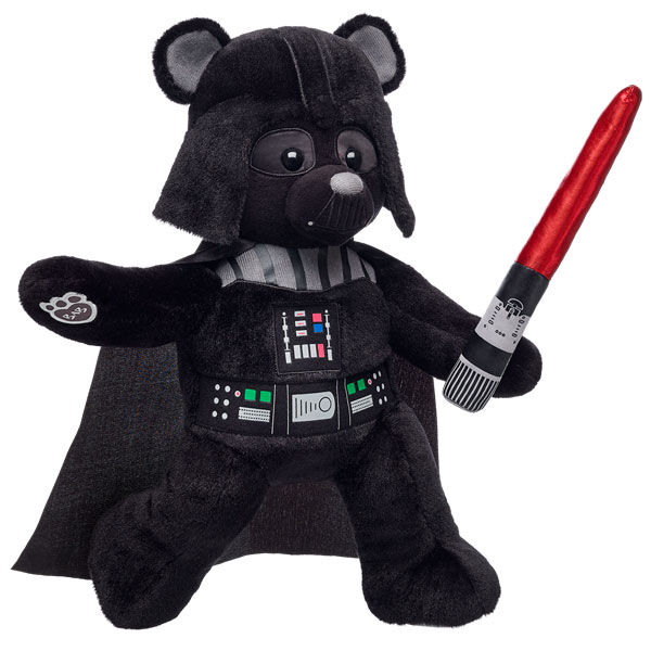 Darth Vader™ Bear with Red Lightsaber Set, , hi-res