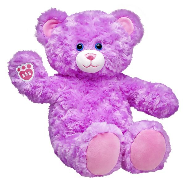 Online Exclusive Lavender Cuddles Teddy, , hi-res