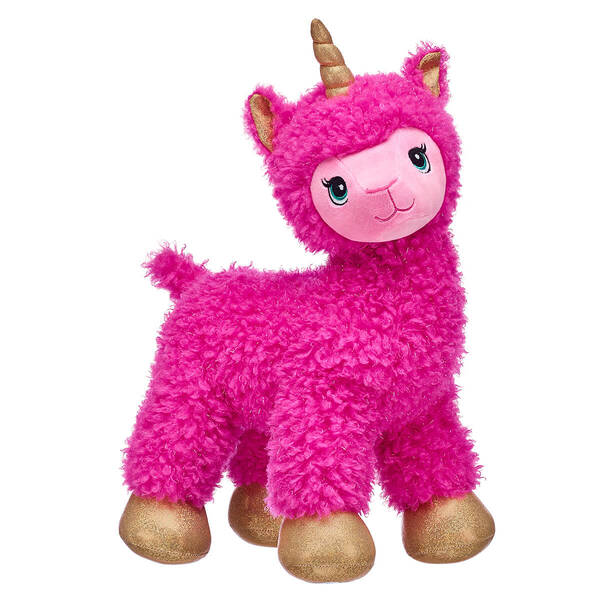 Pink Sparkle Llamacorn - Build-A-Bear Workshop®
