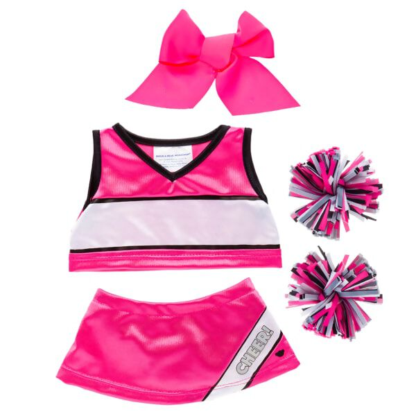 Pink Cheerleading Uniform 5 pc., , hi-res