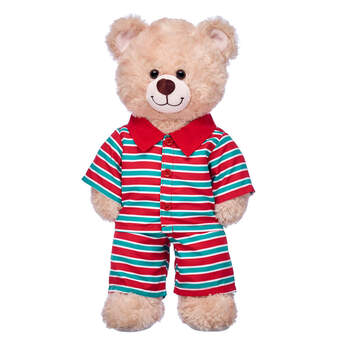 Christmas Stripes Pyjamas - Build-A-Bear Workshop®