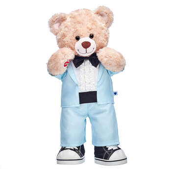 Online Exclusive Happy Hugs Blue Tuxedo Gift Set, , hi-res