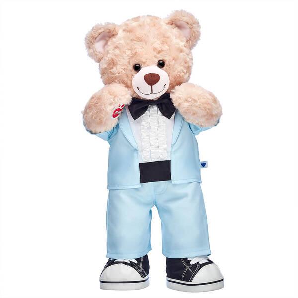 Online Exclusive Happy Hugs Blue Tuxedo Gift Set, , hi-res