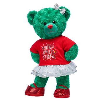 Online Exclusive Evergreen Teddy Gift Set, , hi-res