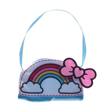 Life's a rainbow ride with the Kabu crew by your side! Accessorise your furry friend by adding this adorable kawaii purse to their outfit. You can even put your Kabu squishies in the purse! Shop online or in store at Build-A-Bear Workshop!