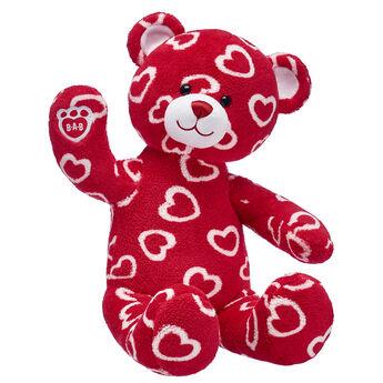 Online Exclusive Hearts 'n' Hugs Teddy Bear, , hi-res