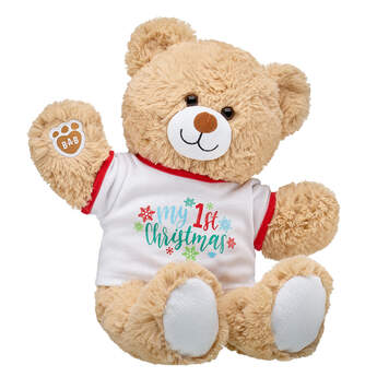 Online Exclusive Cuddly Brown Bear My First Christmas Gift Set, , hi-res