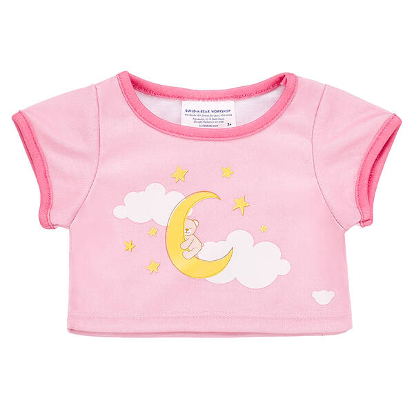 Online Exclusive Pink Baby Moon T-Shirt - Build-A-Bear Workshop®