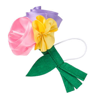 Online Exclusive Satin Spring Bouquet - Build-A-Bear Workshop®