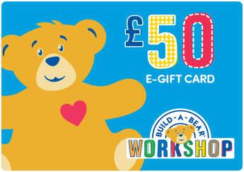 £50 E-Gift Card - Build-A-Bear Workshop®