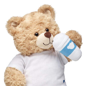 Even bears need their coffee to wake up in the morning! This cute plush wrist accessory for stuffed animals is the PAWfect way to give your furry friend a little java boost.