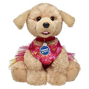 Promise Pets™ Hot Pink Paw Print Dress, , hi-res