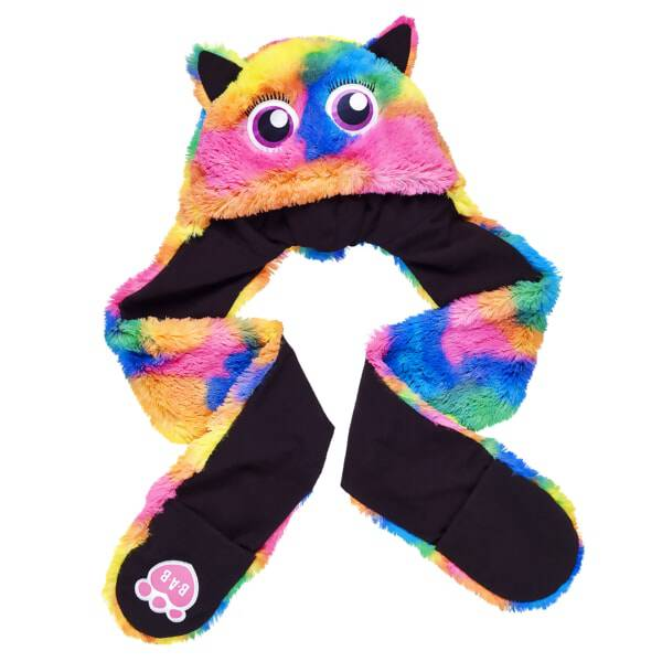 Kid's Rainbow Monster Mixters Hat Scarf & Mittens All-in-One - Build-A-Bear Workshop®