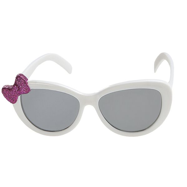 White Bow Sunglasses, , hi-res