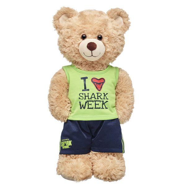 I Love Shark Week Tank & Short Set 2 pc., , hi-res