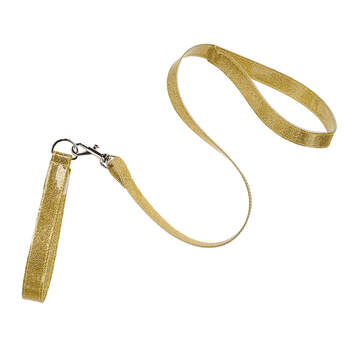 Gold Glitter Leash - Build-A-Bear Workshop®