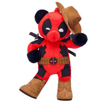Online Exclusive Build-A-Bear as Deadpool Cowboy Gift Set, , hi-res