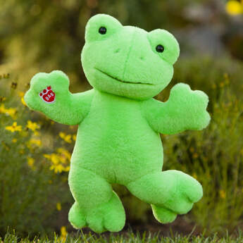 Spring Green Frog - Build-A-Bear Workshop®