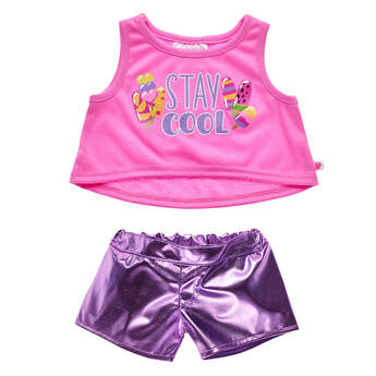 Stay Cool Outfit 2 pc. - Build-A-Bear Workshop®