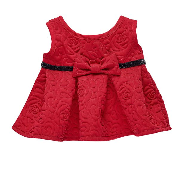 Red Rose Christmas Dress, , hi-res