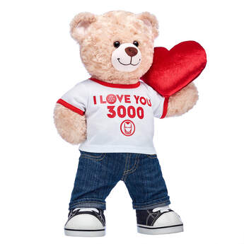 Happy Hugs Teddy I Love You 3000 Gift Set, , hi-res