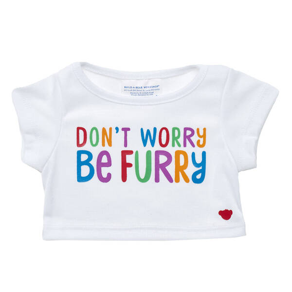 Online Exclusive Don't Worry Be Furry T-Shirt - Build-A-Bear Workshop®