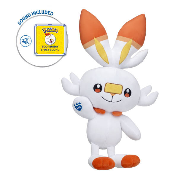 Scorbunny with 5-in-1 Sound - Build-A-Bear Workshop®