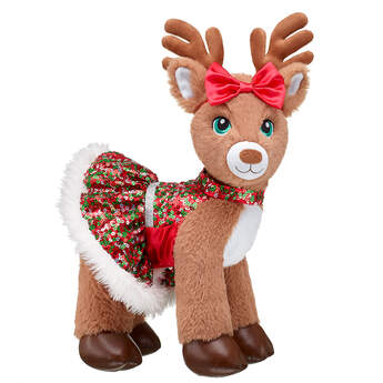 Red Christmas Dress - Build-A-Bear Workshop®