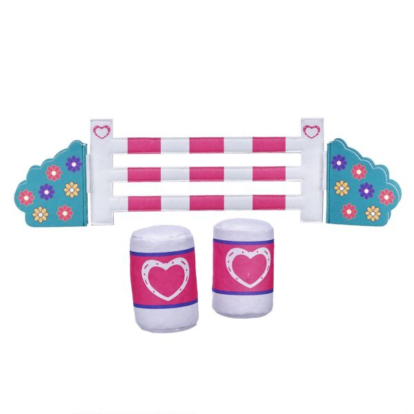 Horses & Hearts Riding Club Barrel & Jump Set 3 pc., , hi-res