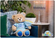Happy Hanukkah E-Gift Card - Build-A-Bear Workshop®