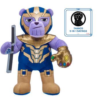 Thanos Soft Toy Set with Sound - Build-A-Bear®