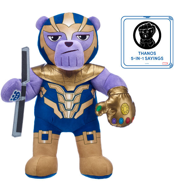 Thanos Soft Toy Set with Sound - Build-A-Bear®