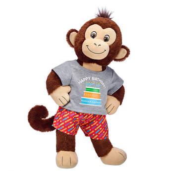 Online Exclusive Smiley Monkey Birthday Gift Set, , hi-res