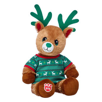Online Exclusive Jolly Reindeer Boy with Outfit, , hi-res
