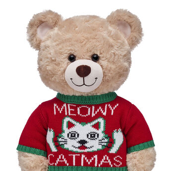 Meowy Catmas Sweater, , hi-res