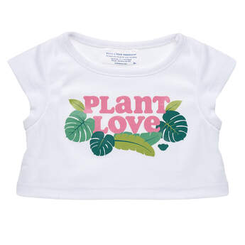 Online Exclusive Plant Love T-Shirt - Build-A-Bear Workshop®