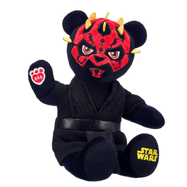 Online Exclusive Darth Maul™ Bear - Build-A-Bear Workshop®