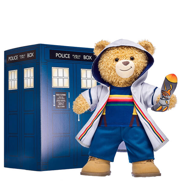 Online Exclusive Doctor Who Bear Deluxe Thirteenth Doctor Gift Set, , hi-res