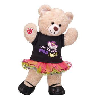 Online Exclusive Happy Hugs Teddy Cheshire Cat Tutu Gift Set, , hi-res