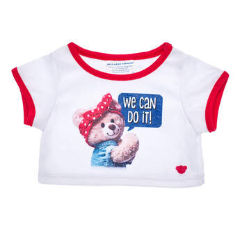 Online Exclusive We Can Do It! T-Shirt - Build-A-Bear Workshop®