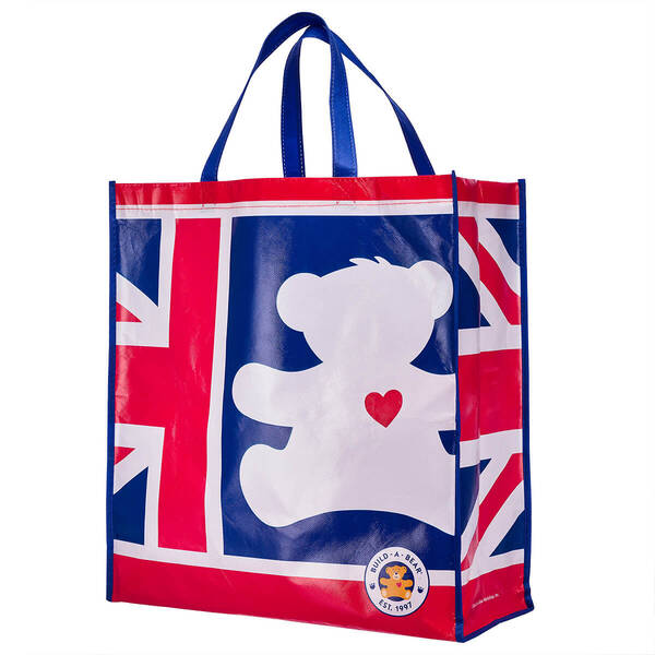 Union Jack Bear Shopping Bag - Build-A-Bear Workshop®