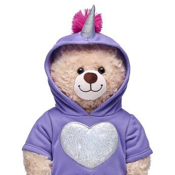 Unicorn Heart Hoodie - Build-A-Bear Workshop®