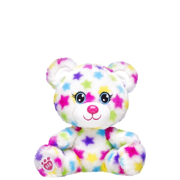 Build-A-Bear Buddies™ Rainbow Stars Bear, , hi-res