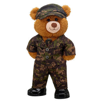 Online Exclusive Happy Brown Bear Camo Gift Set, , hi-res