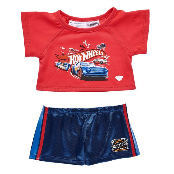 Higher, farther, faster! There's no challenge too big for your furry friend when they're dressed in this awesome Hot Wheels™ outfit! Personlize a furry friend to make the perfect gift. Shop online or visit a store near you!