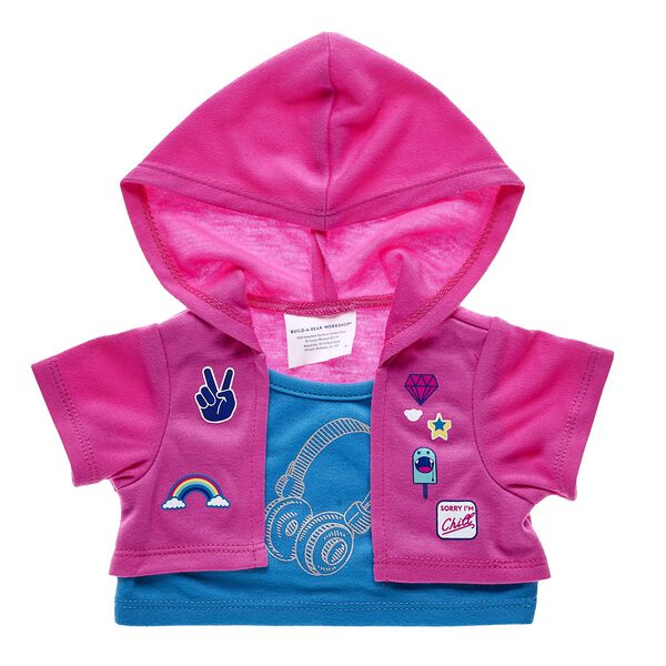 Pink Patches 2-Fer Jacket, , hi-res