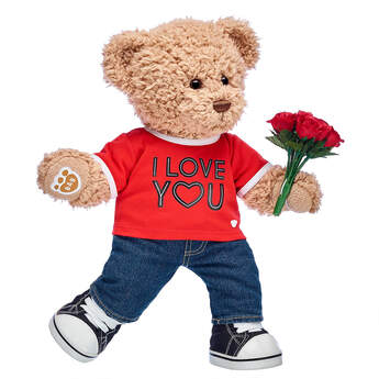 Timeless Teddy I Love You Gift Set, , hi-res